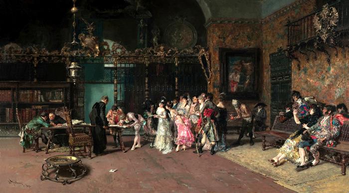 Colección esmaltes Mariano Fortuny
